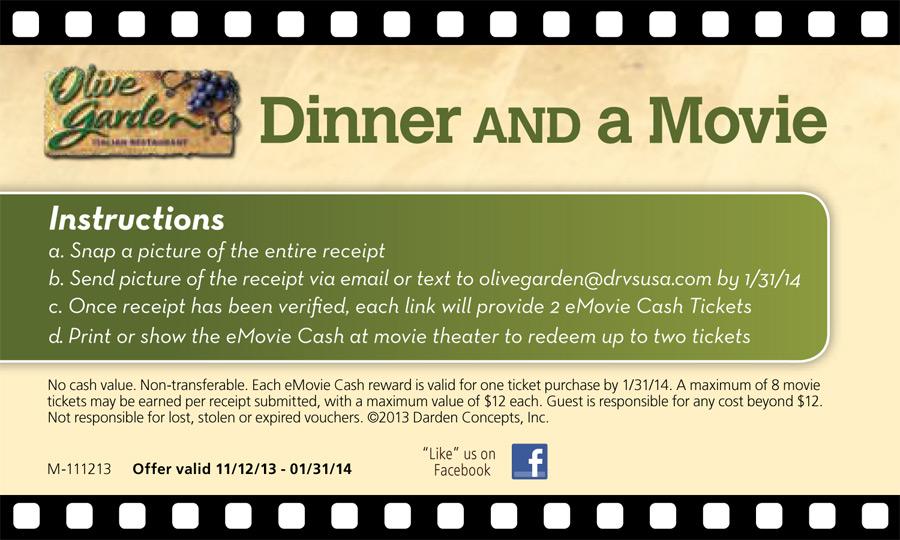 Olive Garden Program – TPG Rewards